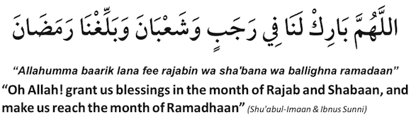 dua-for-rajab